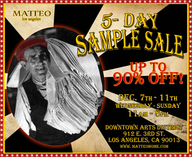 Sample Sale Eblast 2